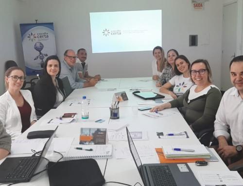 Reunião da Comissão do Programa A Escolha Certa discute novos projetos e ideias para o próximo ano